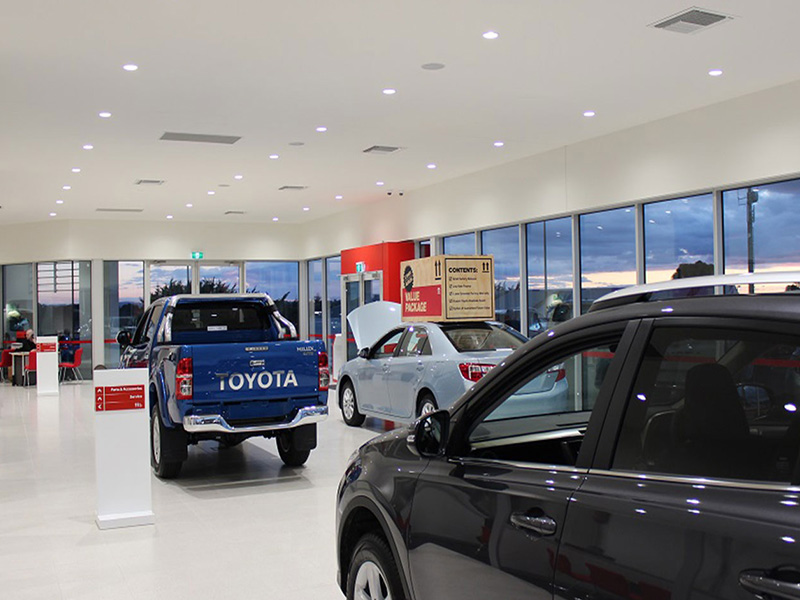 Car Showroom - Australia